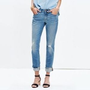 Madewell Slim Boyjean Amedeo Wash